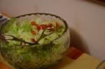 Salada de tomate e alface